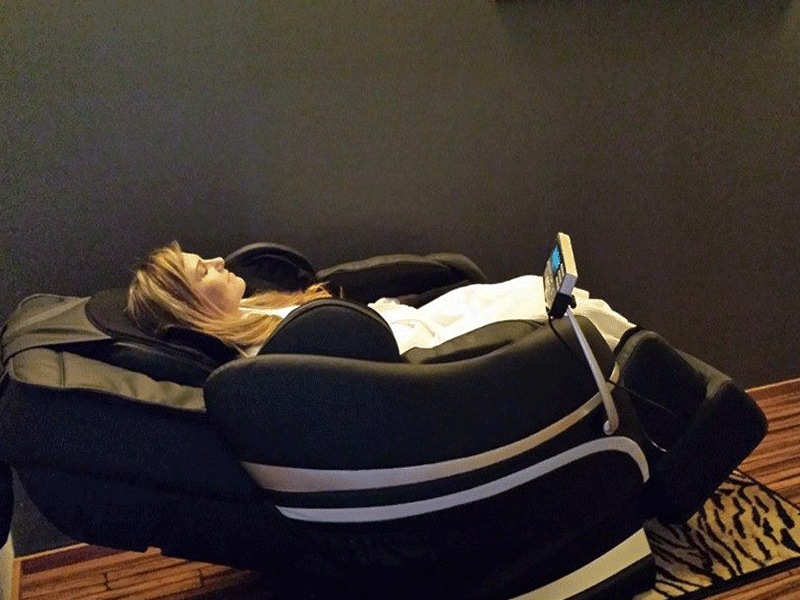 senses day spa massage chair