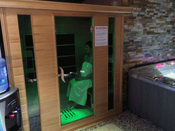 senses day spa infrared sauna